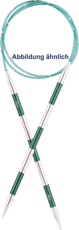5 mm KnitPro 42091 SmartStix Aiguille /à tricoter circulaire 80 cm m/étal multicolore