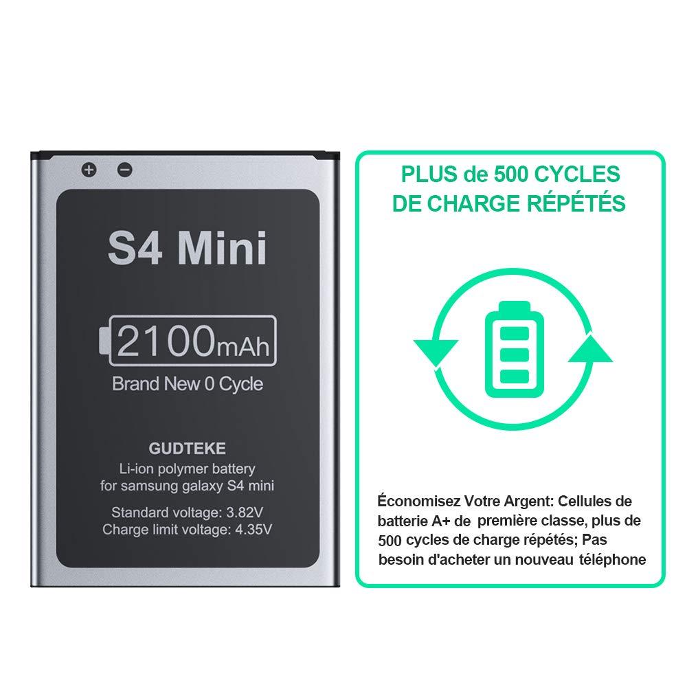 GUDTEKE Akku fr Samsung Galaxy S3 Verbesserter 2300-mAh-Lithium ...