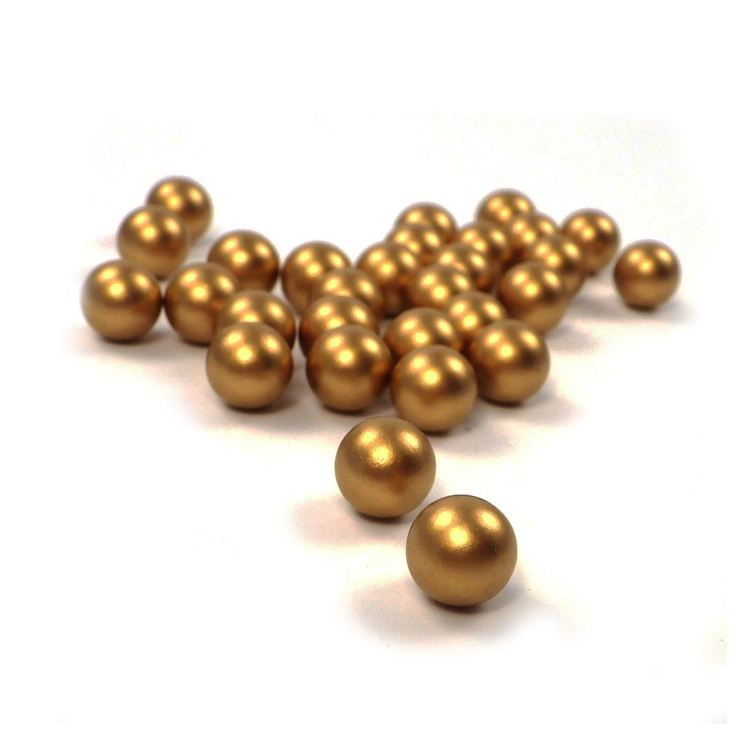 Perline sfuse in plastica, 1000 pezzi, ottima lavorazione, perline decorative, senza foro, da 5-8mm, colori vari, Plastica, S-dpl-5mm-02, 5 mm Sepkina