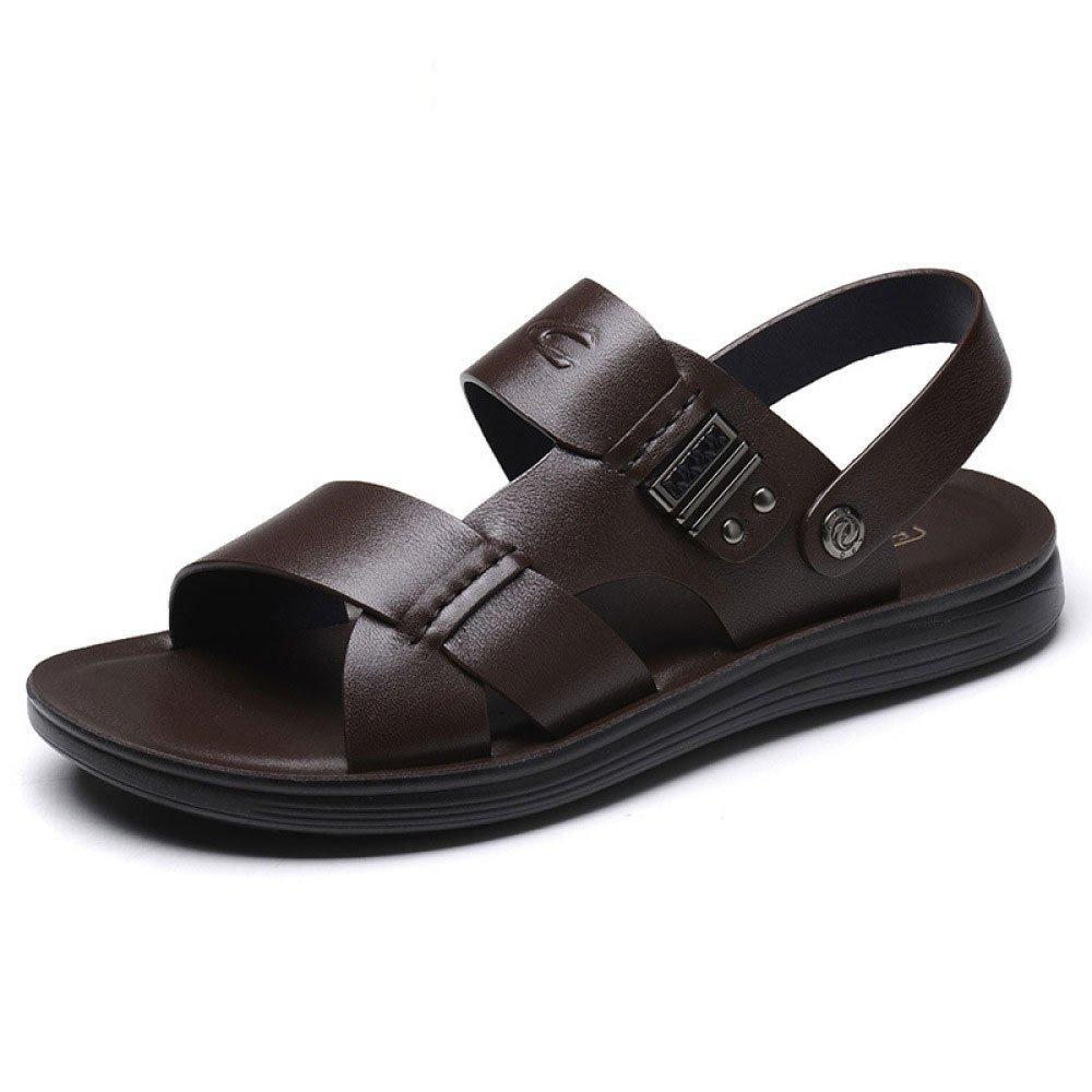Sandalias para Hombres Zapatillas De Playa De Verano Sandalias Informales Antideslizantes 38 EU Brown