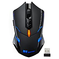 VicTsing Wireless Gaming Mouse with Unique Silent Click Deals