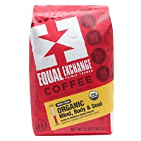 Equal Exchange Organic Whole Bean Coffee 12oz