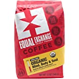 Equal Exchange Organic Whole Bean Coffee, Mind Body Soul, 12-Ounce Bag