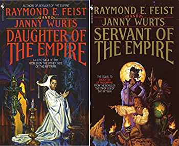 The Empire Trilogy by Raymond E. Feist and Janny Wurts