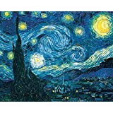 Vincent Van Gogh Starry Night Night Decorative Fine Art Poster Print, Unframed 16x20