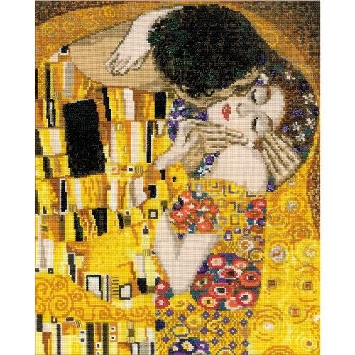 RIOLIS NOM105597 The Kiss/G. Klimt's Painting Counted Cross