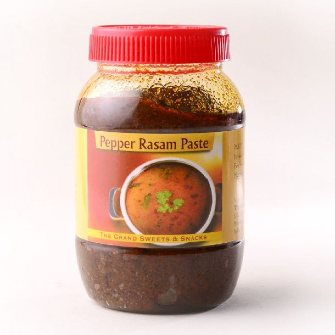 The Grand Sweets Pepper Rasam Paste - 400 Grams by Grand Sweets
