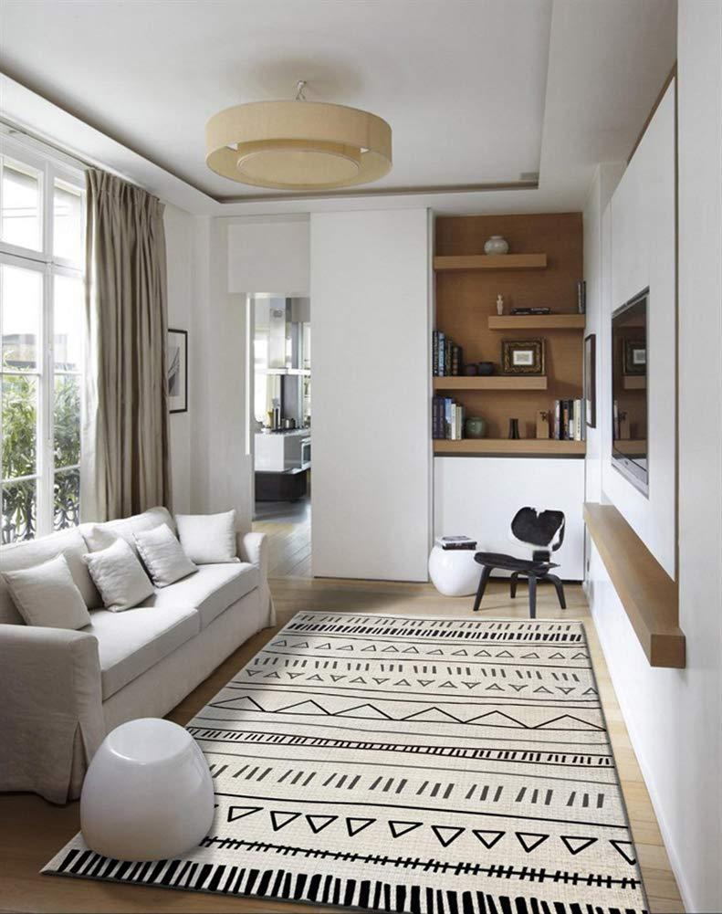 Insun Teppich Skandinavischer Stil Teppich Moderner Moderner Moderner Geometrische Formen Teppich Anti Rutsch Abwaschbarer Stil 24 160x200cm B07KCHYKDQ Teppiche 29c0fd
