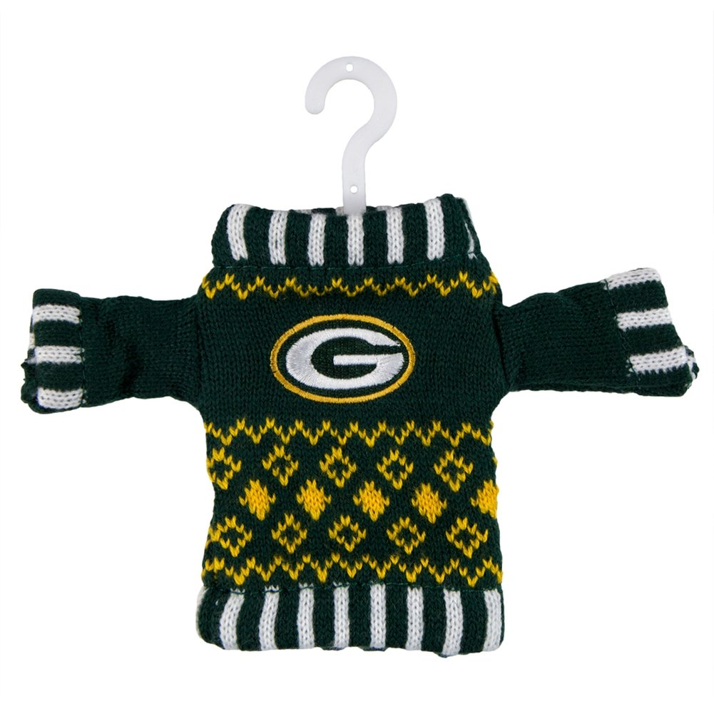 new styles a8433 973f1 NFL Knit Sweater Ornament - Baltimore Ravens NFL Team: Green Bay Packers