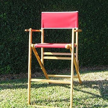 Oak Tall Directors Chair
