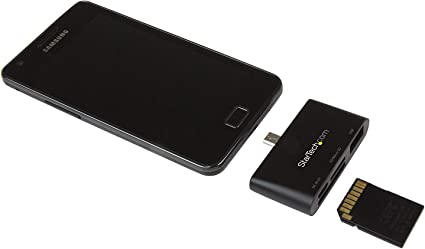 SanFlash PRO USB 3.0 Card Reader Works for Xolo Black Adapter to Directly Read at 5Gbps Your MicroSDHC MicroSDXC Cards