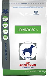 Royal Canin Veterinary Diet Canine Urinary SO Dry Dog Food 17.6 lb bag by Royal Canin