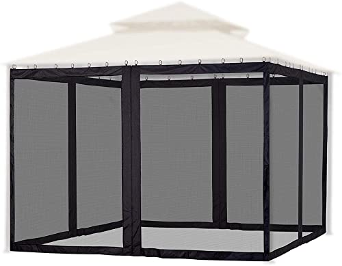 Yescom Universal Replacement Mesh Netting Screen Wall Sidewall Curtain