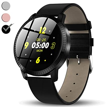 Mens Stainless Steel Wear Touch Screen Silicone Smart Watch/ 1.3