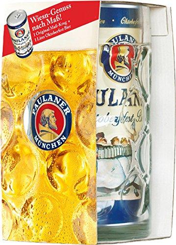 Paulaner Oktoberfest-Dosenbier mit Maßkrug 1l MW