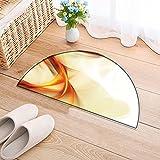 Bedroom Living Room Bedside Creative element for your art-design. Hi-res Bedside Area Rug Round(35.4×23.6 INCH) Review