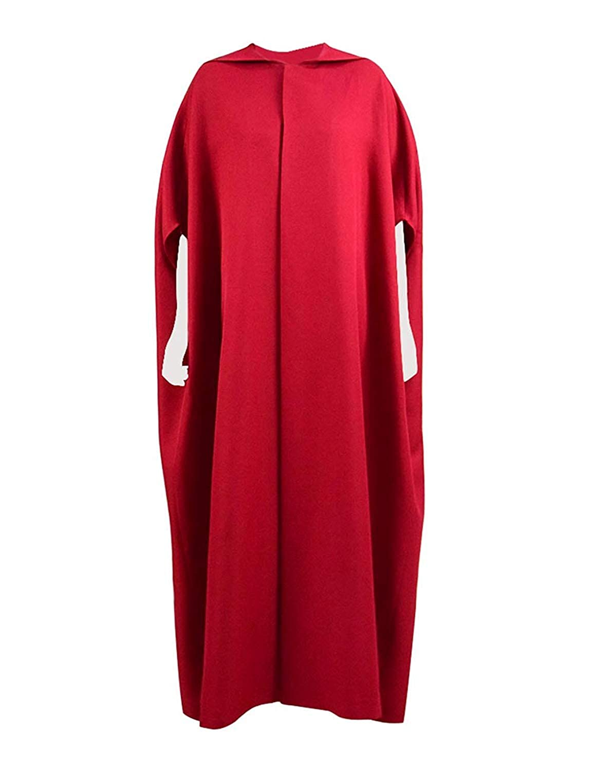 3-CM The Handmaid`s Tale Costume Red Cape