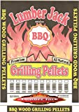 Lumber Jack 100-Percent Cherry Wood BBQ Grilling Pellets, 40-Pound Bag