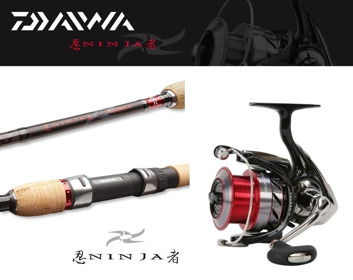 Daiwa Ninja Zandercombo 2,70m 15-50g Ninja 3000A Spinncombo