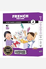 French for Kids: 10 Early Beginner Reader Books with Online Audio (Set 2) Paperback