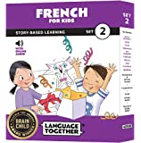 French for Kids: 10 Early Beginner Reader Books with Online Audio (Set 2)