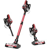 APOSEN Vacuum Cleaner, 24000Pa Strong Suction Detachable Battery, 250W Powerful Brushless Motor, 1.2L Super-Capacity 4…