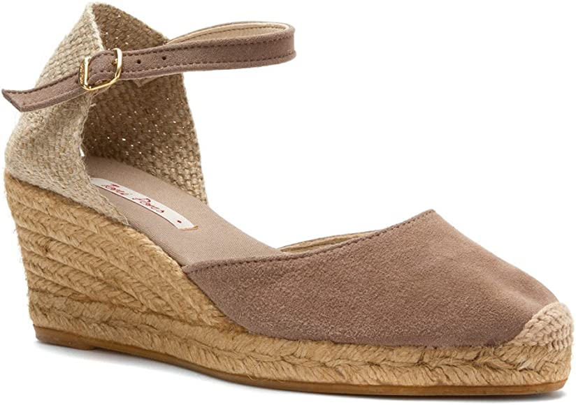 4438e3d0 Toni Pons Women's Lloret-5 Taupe Suede 38 European: Amazon.ca: Shoes ...