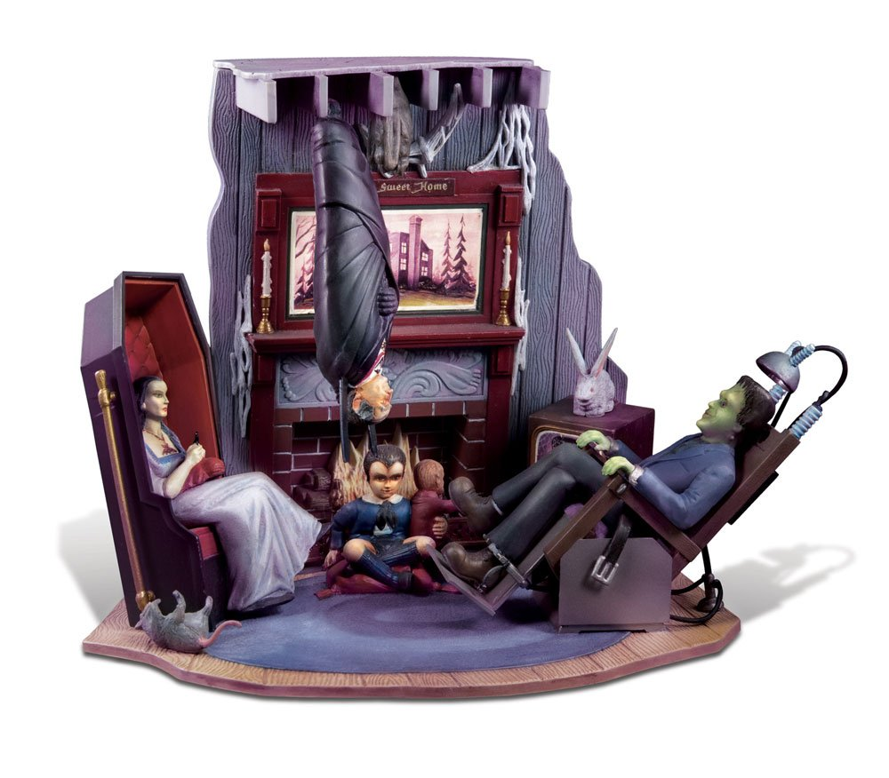 Polar Lights The Munsters Living Room Diorama Model Kit