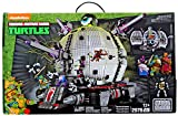 Mega Bloks 887961315011 Teenage Mutant Ninja Turtles TMNT Exclusive Technodrome Set 31501 (2976 Piece)