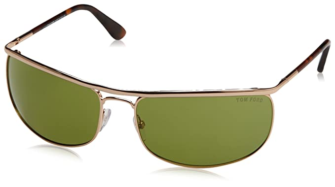 Tom Ford Gafas de Sol 1205359_28N (68 mm) Dorado: Amazon.es ...