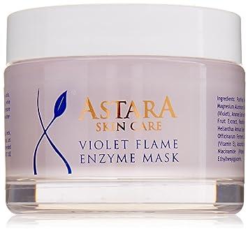 Amazon.com: Astara Violet Flame enzima Máscara: Beauty