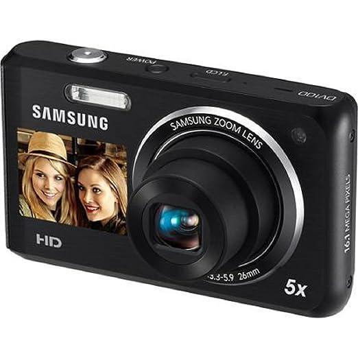 amazon com samsung dv100 dual view digital camera black point rh amazon com Samsung WB100 Samsung 16 1 DV100 Images