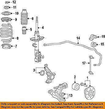 Lower Genuine Honda 51360-S2A-030 Control Arm