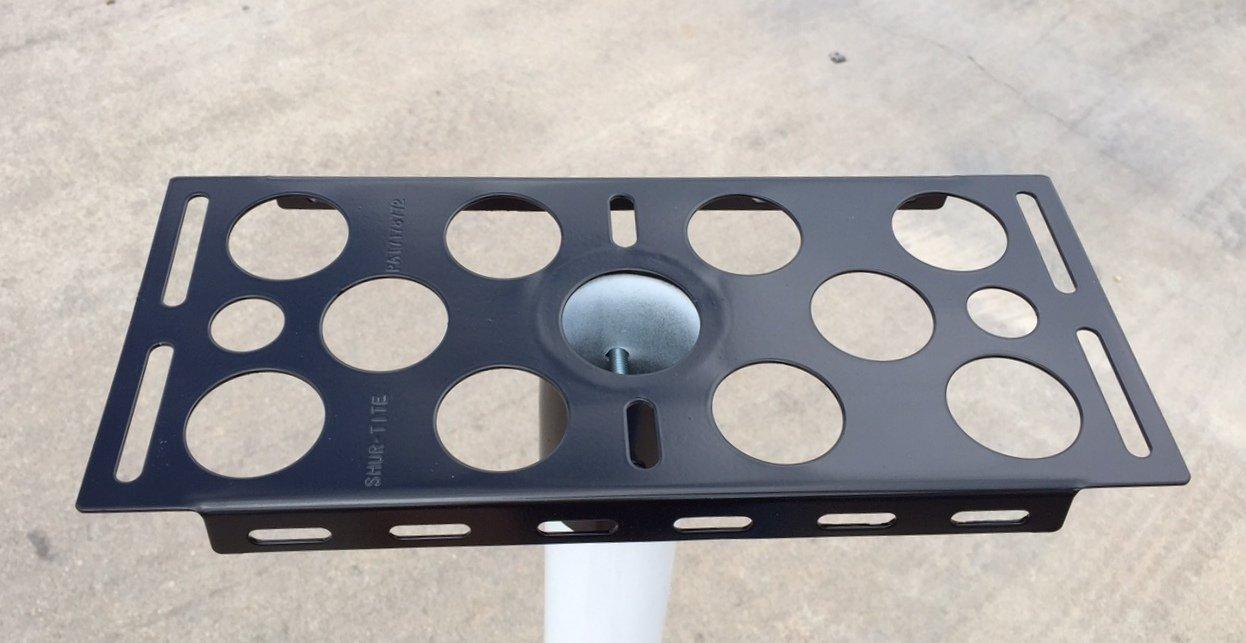 Elegant Mailbox Mounting Brackets Metal Pole