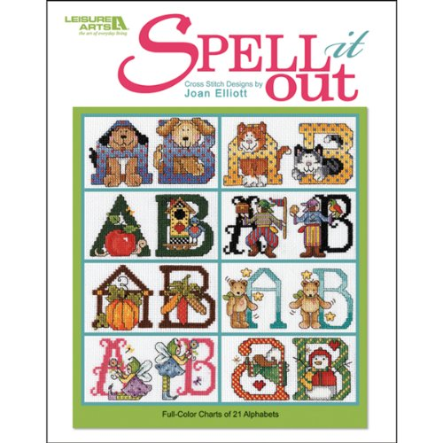 Leisure Arts Spell it Out Cross Stitch Kit by LEISURE ARTS