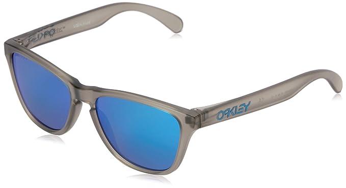 Oakley Frogskins Gafas de Sol, Gris 53 para Hombre: Amazon ...