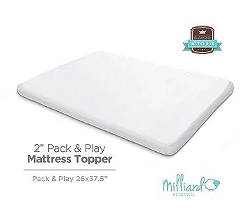 memory foam mattress topper packaging. milliard memory foam pack and play mattress topper packaging o