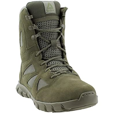 52e91da0c459db Reebok Men s Sublite Cushion Tactical RB8882 Military   Tactical Boot sage  Green ...