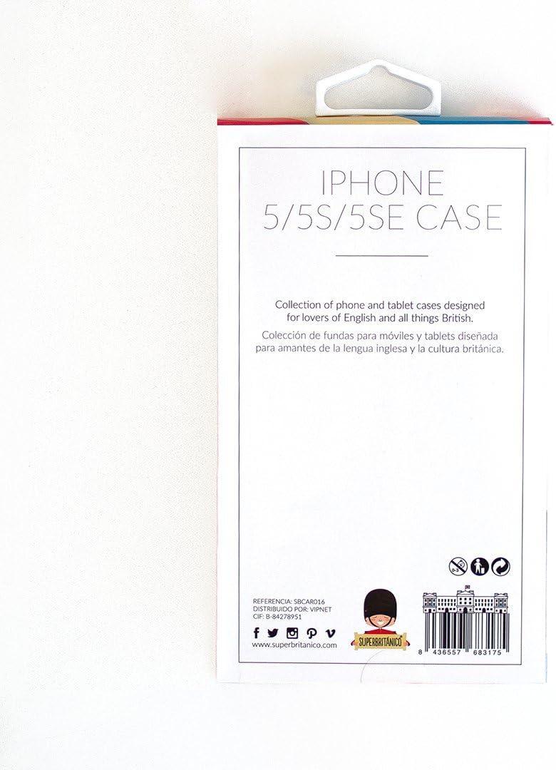 funda iphone 5s superbritanico