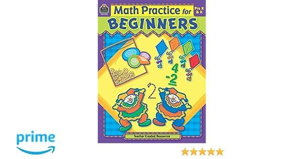 Workbook cutting worksheets : Amazon.com: Math Practice for Beginners, PreK & K (9781420631159 ...