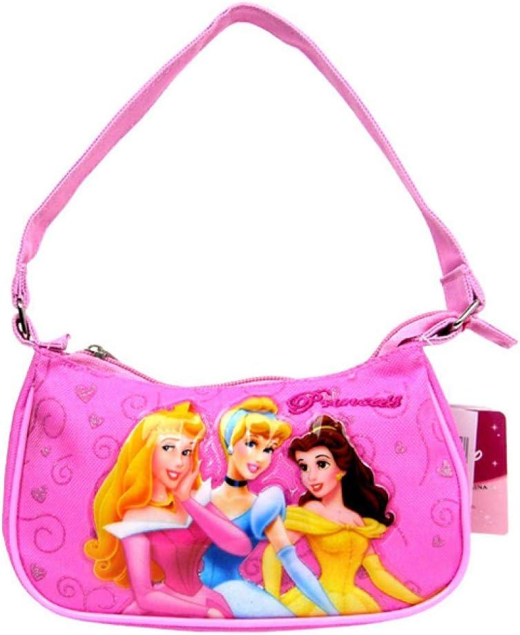 Disney Handbag 3 Princess Pink New Hand Bag Purse Girls 31041 Princess