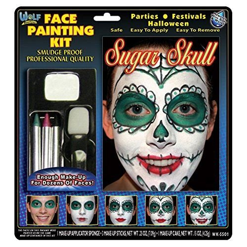 Wolf Novelties Face Painting Kit - Sugar