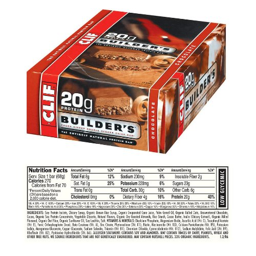 Clif Builders Dipped Double Bar