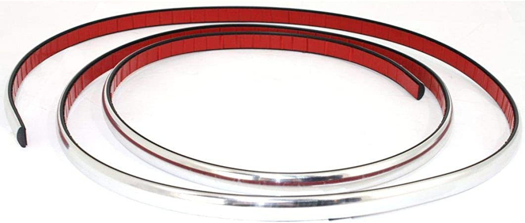 New Front Bumper Molding Chrome Fits Ford Crown Victoria FO1057291 YW7Z17C829BA