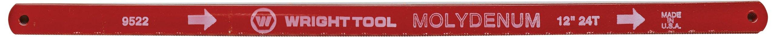 Wright Tool 9522 20/24T 12-Inch Bi-Metal Hacksaw Blade