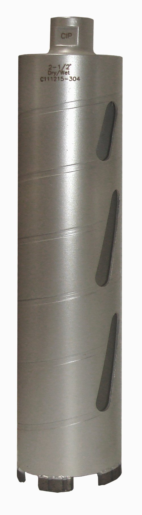 Concord Blades CBD02500HP 2-1/2 Inch Laser Welded Dry/Wet Diamond Core Drill Bit by Concord Blades