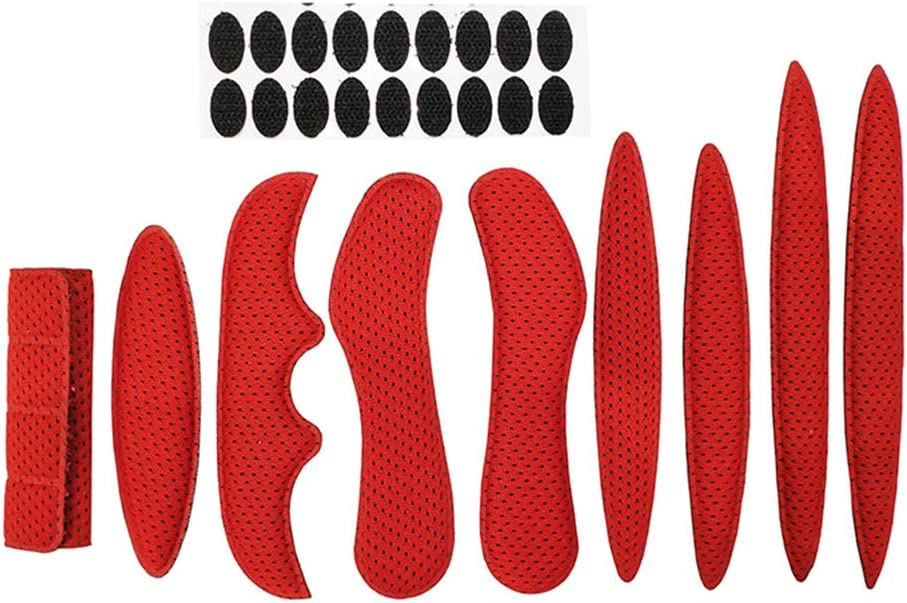 RollingBronze Cycle Helmet Foam Pads Padding Kits for Bicycle Stick Anti-Collision Lining Sponge Protection with Viscose