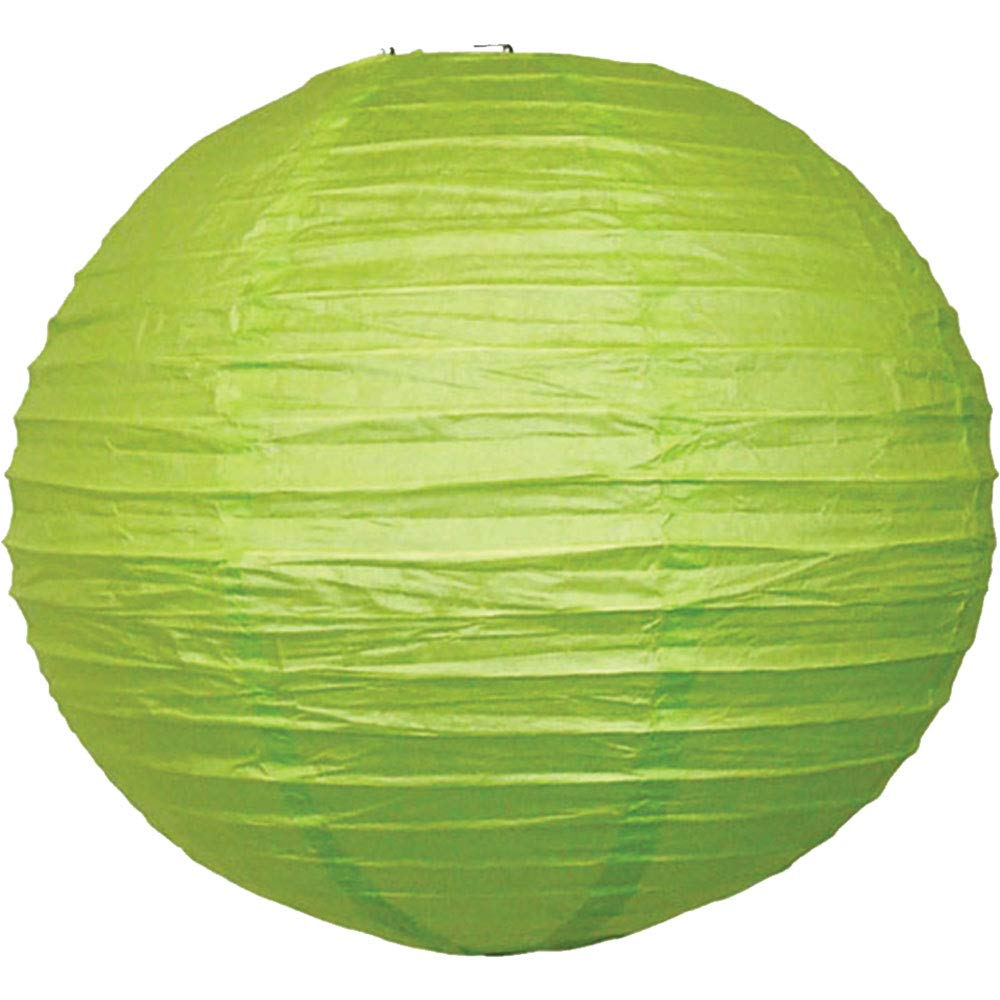 Just Artifacts 10'' Light Green Chinese/Japanese Paper Lantern/Lamp 10'' Diameter - Just Artifacts Brand