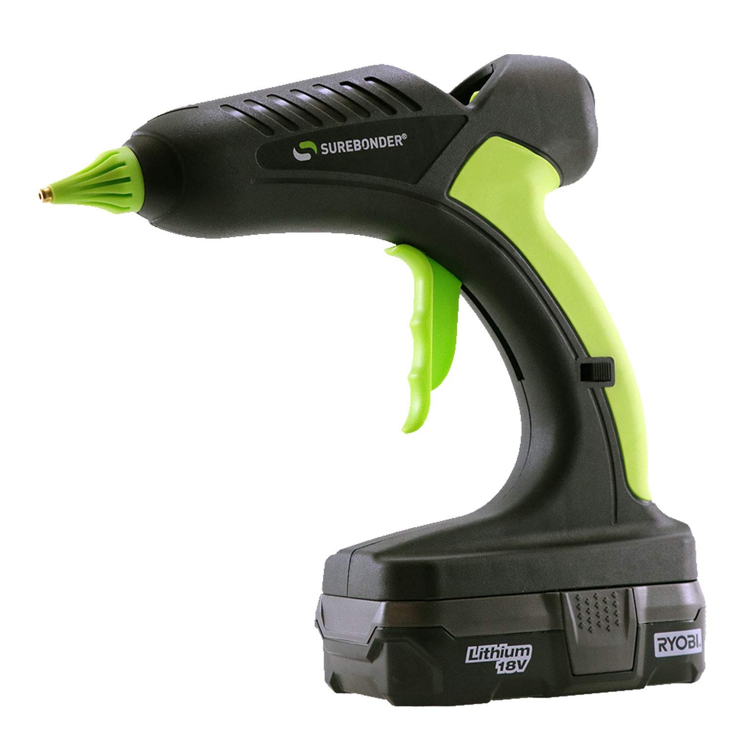PRO2-60 60 Watt 18 Volt Cordless Professional Heavy Duty Full Size Hot Glue Gun - Ryobi battery not included
