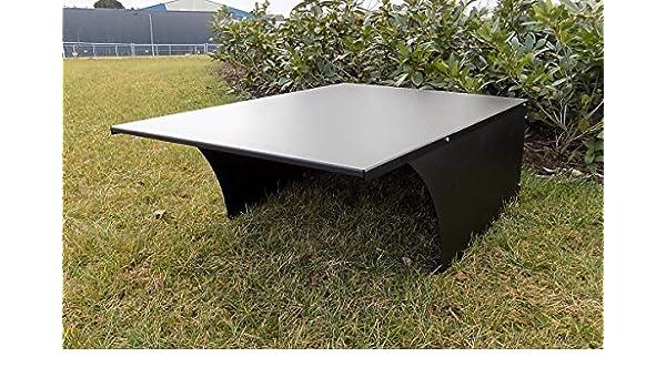 Garaje para cortacésped en varios colores, Negro: Amazon.es ...